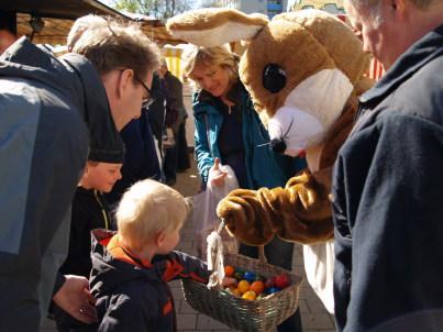 Ostern auf dem Cottbuser Wochenmarkt